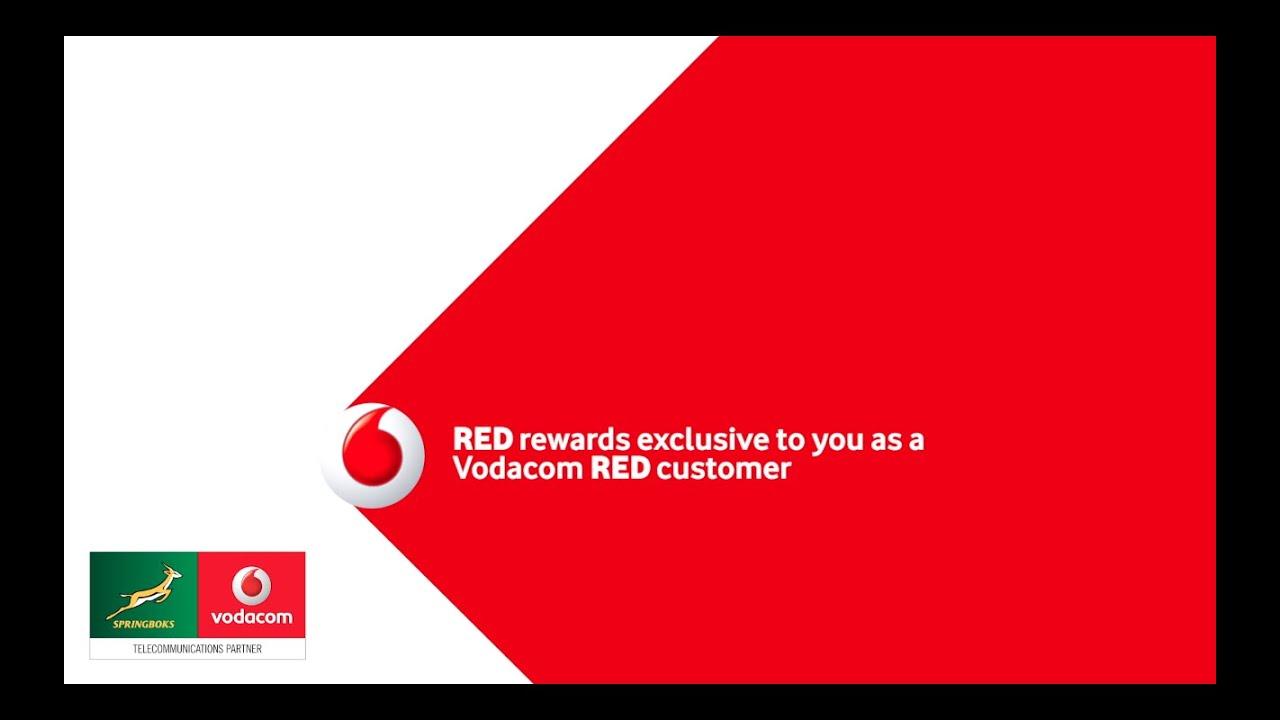 Springbok Rewards for Vodacom Red