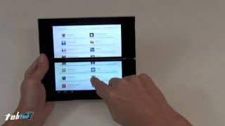Sony Tablet P Test (Full HD)