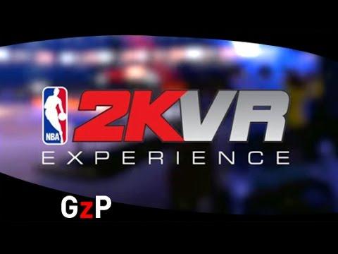 First virtual reality basketball game NBA 2KVR Experience