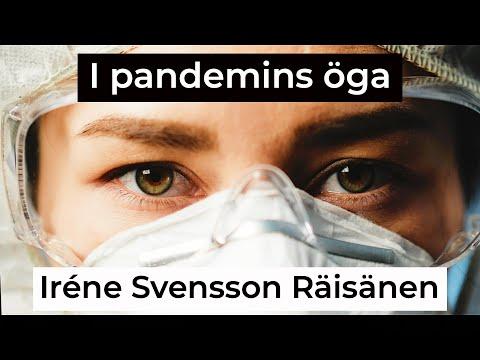 I PANDEMIN ÖGA diktvideo av författaren Iréne Svensson Räisänen