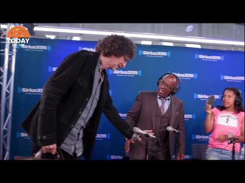 Howard Stern and T.I. surprise Al Roker, Sheinelle Jones, and Dylan Dreyer during their