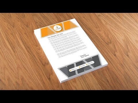 Illustrator Tutorial - Letterhead Design Template