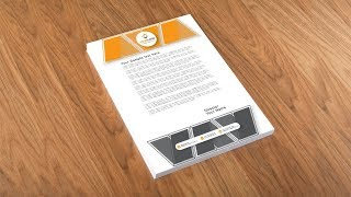 Illustrator Tutorial - Letterhead Design Template Mp3