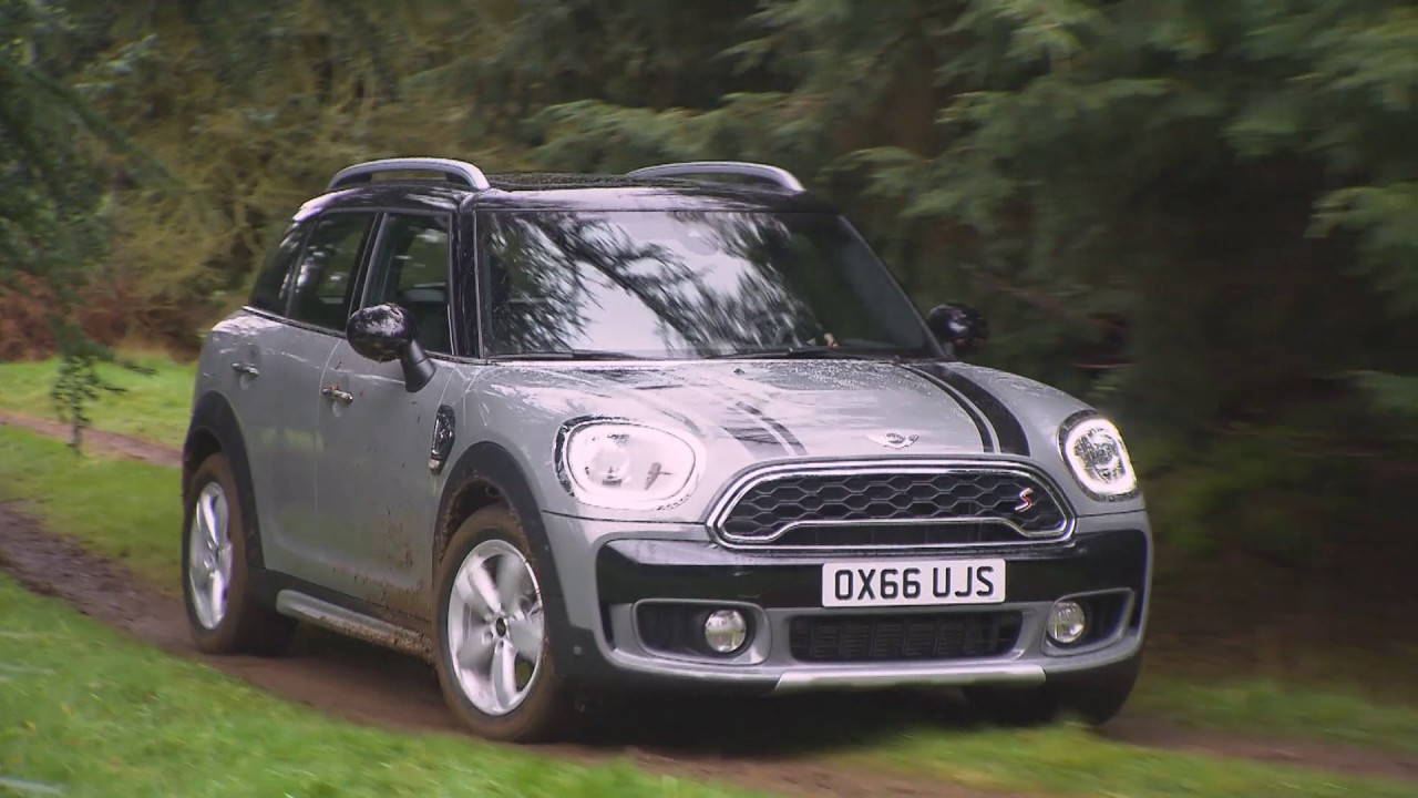 Mini Cooper S Countryman All4 In Moonwalk Grey Driving Video