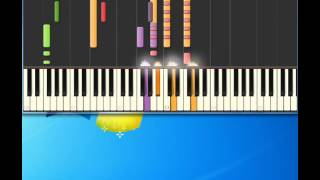 Aretha Franklin   I Never Loved A Man The Way I Love You [Piano tutorial by Synthesia]