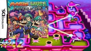 Láser cruzado Shoob/Mario y Luigi: Compañeros en el Tiempo #42