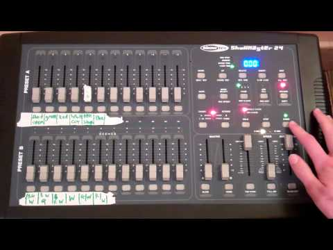 Showtec Showmaster 24 - Overview