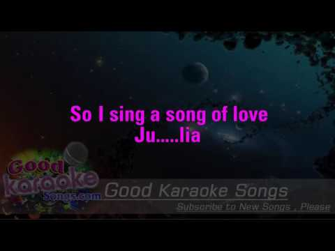 Julia - The Beatles ( Karaoke Lyrics )