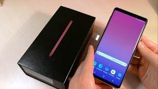 Обзор Samsung Galaxy Note 9 (N960F)