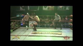 Increíble lucha entre Nick Romano (c) vs Falcon por el campeonato Crucero War