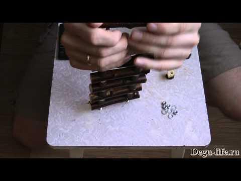 Лесенка - погрызушка для дегу и шиншилл