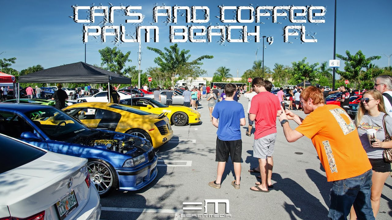 cars coffee palm beach fl 2 000 cars bsaintmedia youtube. Black Bedroom Furniture Sets. Home Design Ideas