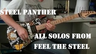 Cover of ALL STEEL PANTHER SOLOS From Feel The Steel!