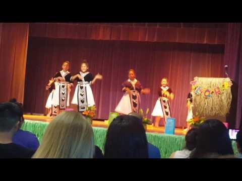 Hmong Dance @ Fancher Creek Elementary School