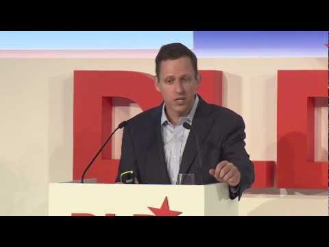 Developing the Developed World (Peter Thiel, Managing Partner at The Founders Fund) | DLD13