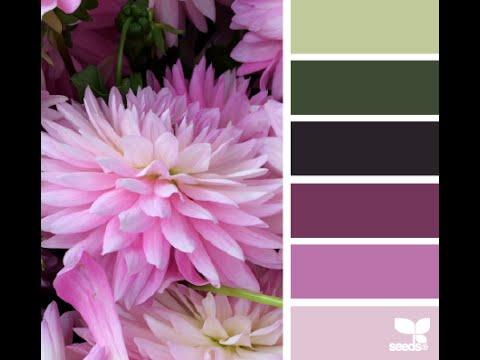 Подбор сочетания цветов. Вязание с LusiTen