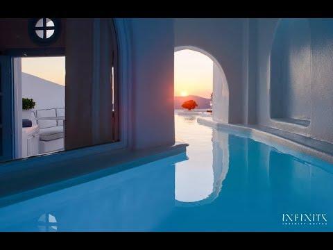 Honeymoon Pool Suite Dana Villas Infinity Suites Santorini