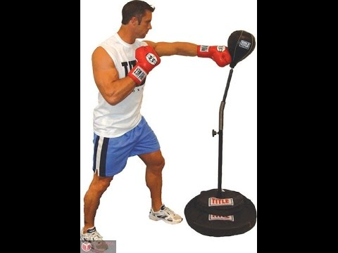 Детская боксерская груша с перчатками напольная Супер БОКС - YouTube
