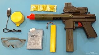 Super Modern Gel Ball Bullet Toy Blaster   Unboxing and Testing Shooting Toys