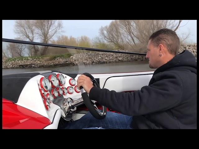Adrenaline Custom Boats 26 Savage - Mercury Racing 300R Engines