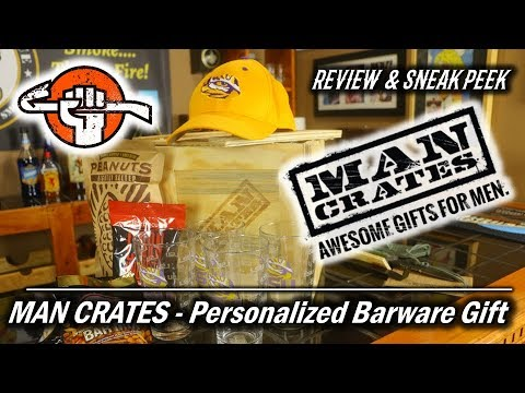 8322f0642ecb Man Crates Personalized Gift - Review   Sneak Peak - YouTube