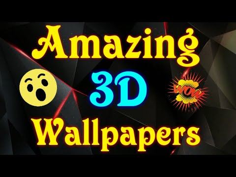 Latest 3D Wallpaper's With VFX 2018 By Nil Creations