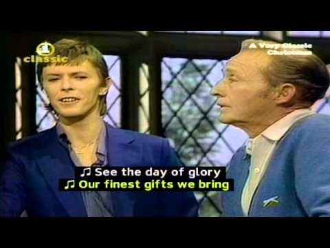 David Bowie & Bing Crosby【ツ】Peace On Earth - Little Drummer Boy【HD】