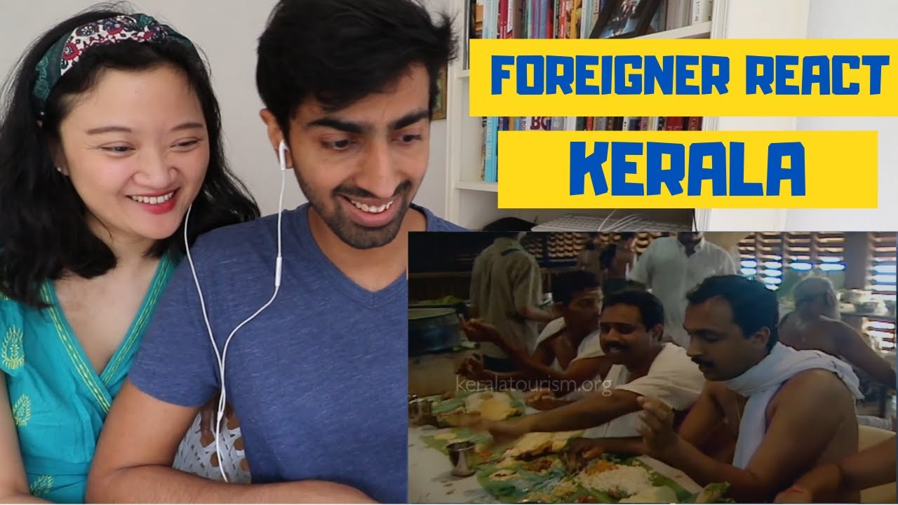 FOREIGNER REACT on KERALA TOURISM VIDEO and TRIES to PRONOUNCE THIRUVANANTHAPURAM
