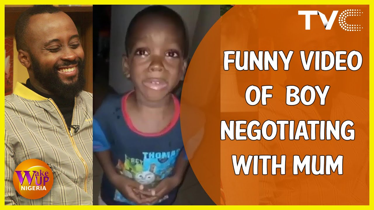 Mummy You Need To Be Calming Down - Funny Video Of This Boy Negotiating With His Mum