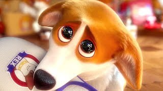 THE QUEEN'S CORGI Movie Trailer (Animation, 2018)