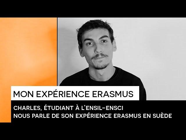 [TEMOIGNAGE] : Charles nous partage son expérience ERASMUS en Suède