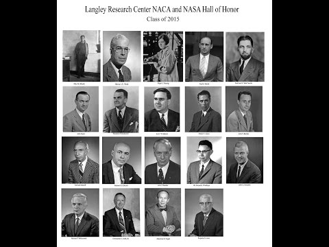 Langley Research Center NACA and NASA Hall of Honor