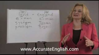English Pronunciation - vowel changes in stressed and unstressed syllables