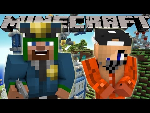 Minecraft Police : FIRST DAY ON THE JOB!