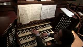 Sir Edward Elgar: Organ Sonata in G major: i - Allegro maestoso (1/4)