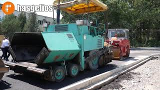 В Хасавюрте ремонтируют дороги