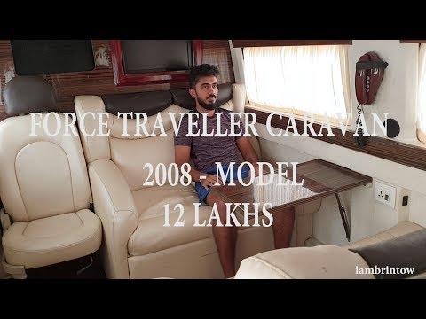 FORCE TRAVELLER CARAVAN 2008 FOR 12 LAKHS