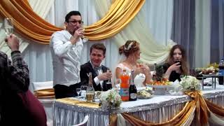 Первый тост на свадьбе 2019
