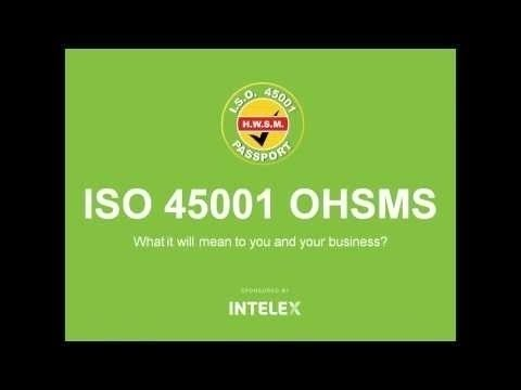 ISO 45001 OHSMS - Chris Ward