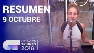 Resumen diario OT 2018 | 9 OCTUBRE