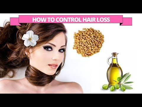 Treat hair loss with Fenugreek & olive oil