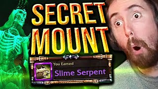 Asmongold Obtains SECRET Mount by SOLOing a Dungeon | Slime Serpent (Shadowlands)