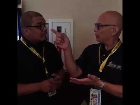 Kyle Mandapat interviews Femi Bajomo and Victor Pangelinan of Ledge Light Technologies