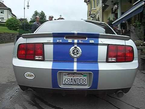 Taillights 2008 Ford Mustang Shelby Gt500 Kr Run Europe 2017
