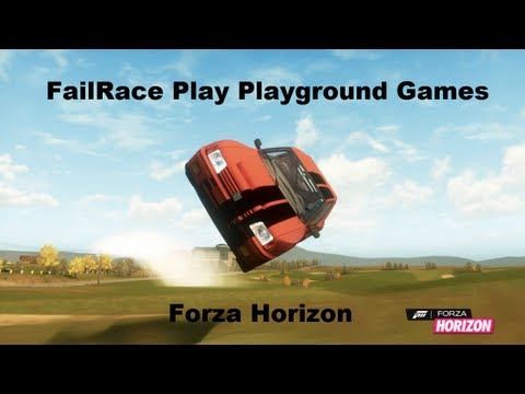 FailRace Play Playground Games (Forza horizon)