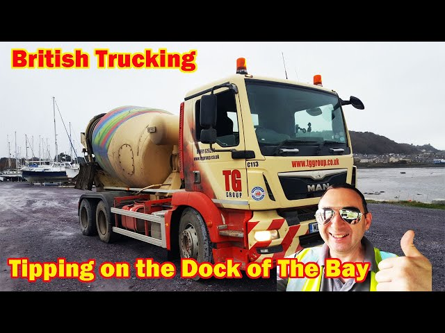 Tipping on the dock of the bay british trucking Song