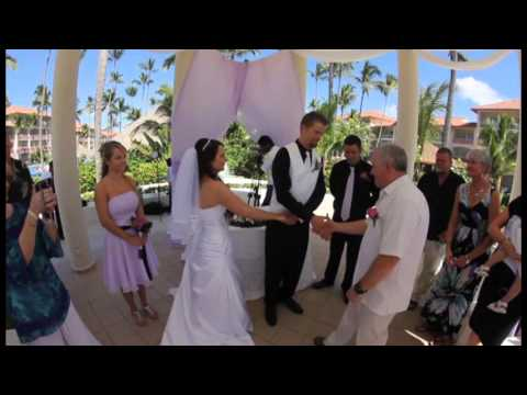 Kate Olins Wedding Majestic Colonial Hotel Punta Canampg YouTube