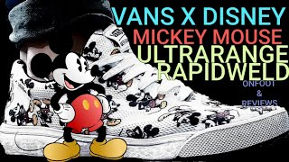 MICKEY MOUSE DISNEY VANS COLLABORATION