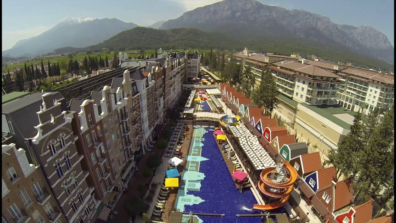 orange county resort hotel kemer | season 2016 - youtube