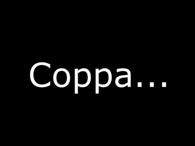 Coppa could get alot worse now